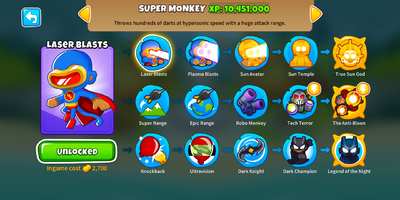 Super Monkey Menu BTD6