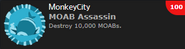 MOAB Assassin Achievement