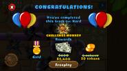 Advanced Hard Challenge Monkey