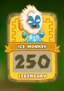 Legendary Ice Monkey