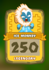 Legendary Ice Monkey