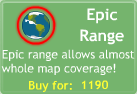 BTD3 Epic Range upgrade button