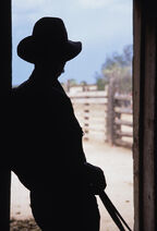 Silhouette-of-a-cowboy-in-a-doorway-stacy-gold