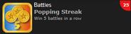 Popping Streak