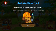 BTD5 update required