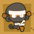 Ninja monkey seeking