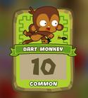 Common Dart Monkey