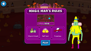 Martian Games Powerless and Wizard