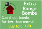 BTD3 Extra Range Bombs upgrade button