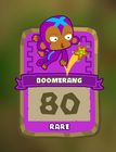 Rare Boomerang Thrower