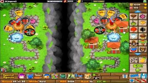 BTD5 Bloons Tower Defense 5 Walkthrough