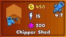 Chipper Shed as seen in BMC Mobile