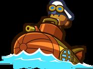 Steampunk Monkey Sub