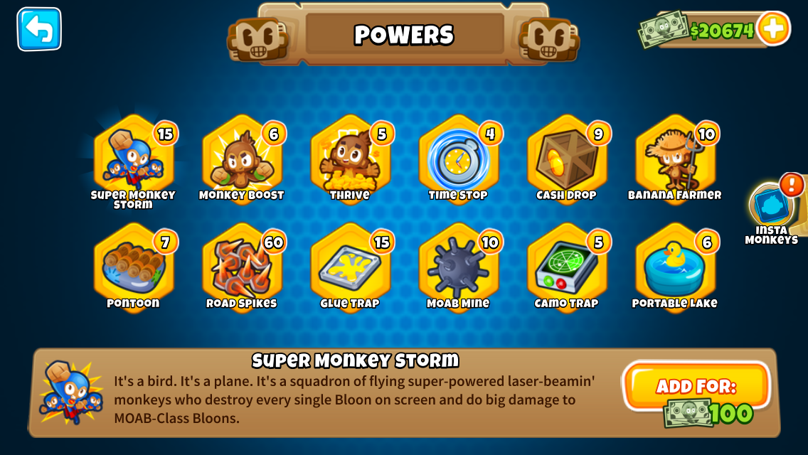 Powers | Bloons Wiki | FANDOM powered by Wikia
