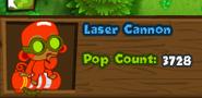 Laser cannon bmc