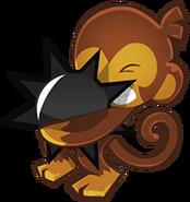 Spike-O-Pult Monkey
