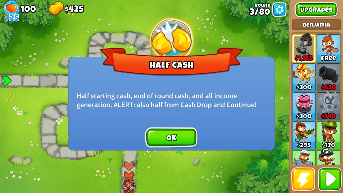 Half Cash | Bloons Wiki | FANDOM powered by Wikia