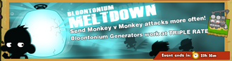 Bloontonium meltdown notice