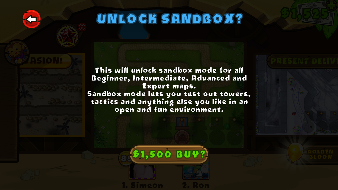 Sandbox Mode | Bloons Wiki | FANDOM powered by Wikia