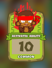 Common Activated Ability