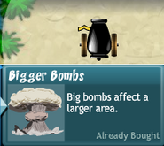 Bigger Bombs