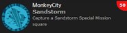 Sandstorm Achievement