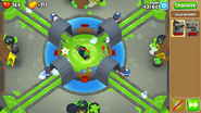 Bloon Liquefier appear on spillway