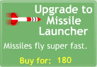 BTD3 Missile Launcher upgrade button