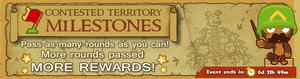 Contested Territory Milestones