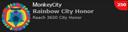 Rainbow City Honor