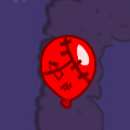 Red zombie bloon placeholder