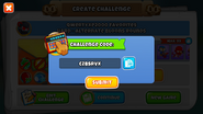 Custom challenge example