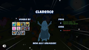 Unlock Clarence