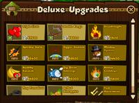 Deluxe upgrades