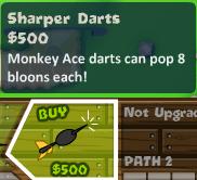 Sharper Darts