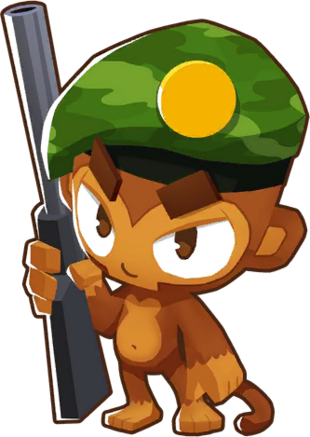 Sniper Monkey   Bloons Wiki   FANDOM powered by Wikia