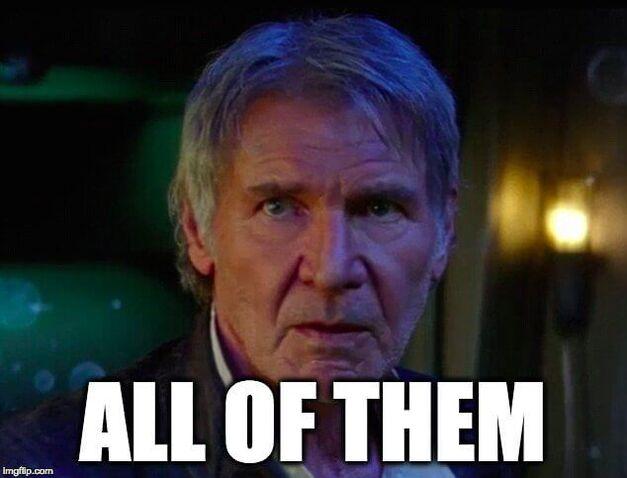 star wars han solo force awakens meme