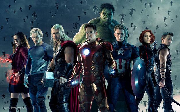 marvel avengers lineup
