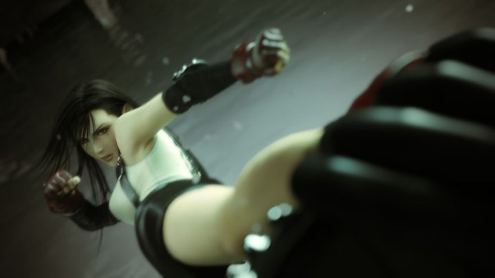 Tifa render from Dissidia 012.