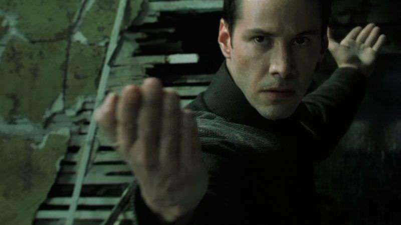 matrix-cyberpunk keanu reeves as Neo