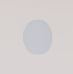 Tinit egg white background