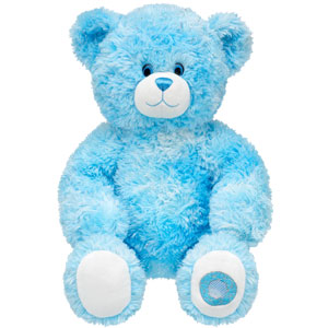 Bearilliant blue teddy