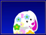 Virtual blossom bunny