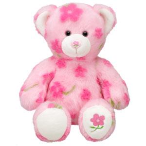 Spring hugs bear