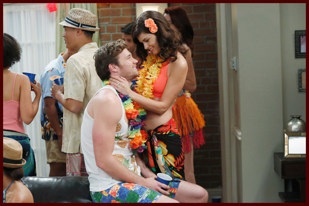 baby daddy riley and danny kiss