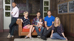 Baby daddy season 4 cast