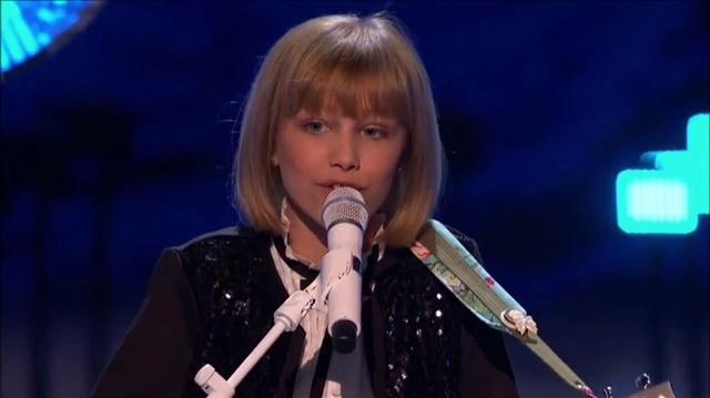Grace Vanderwaal (Mothra) At The America's Got Talent Holiday Spectacular