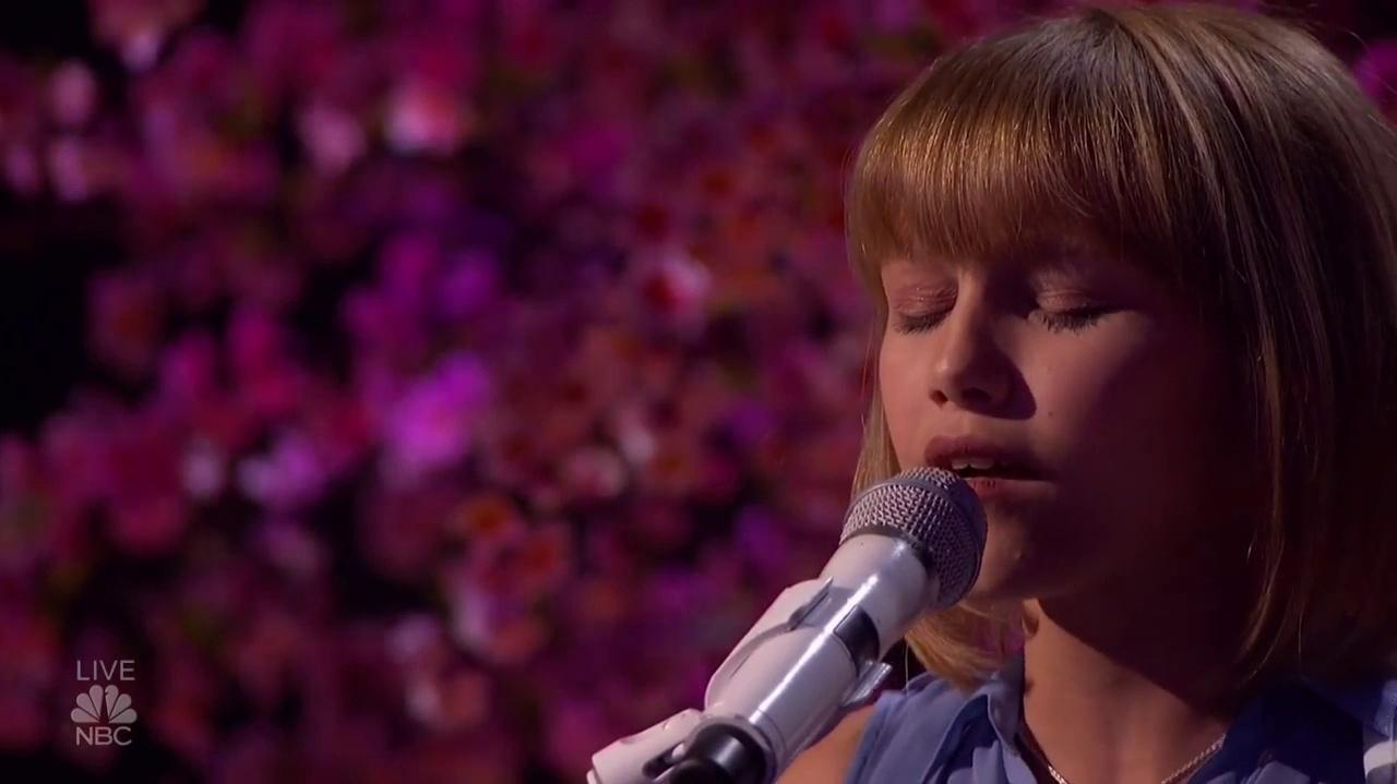 Grace Vanderwaal (Mothra) At The America's Got Talent Quarter Finals
