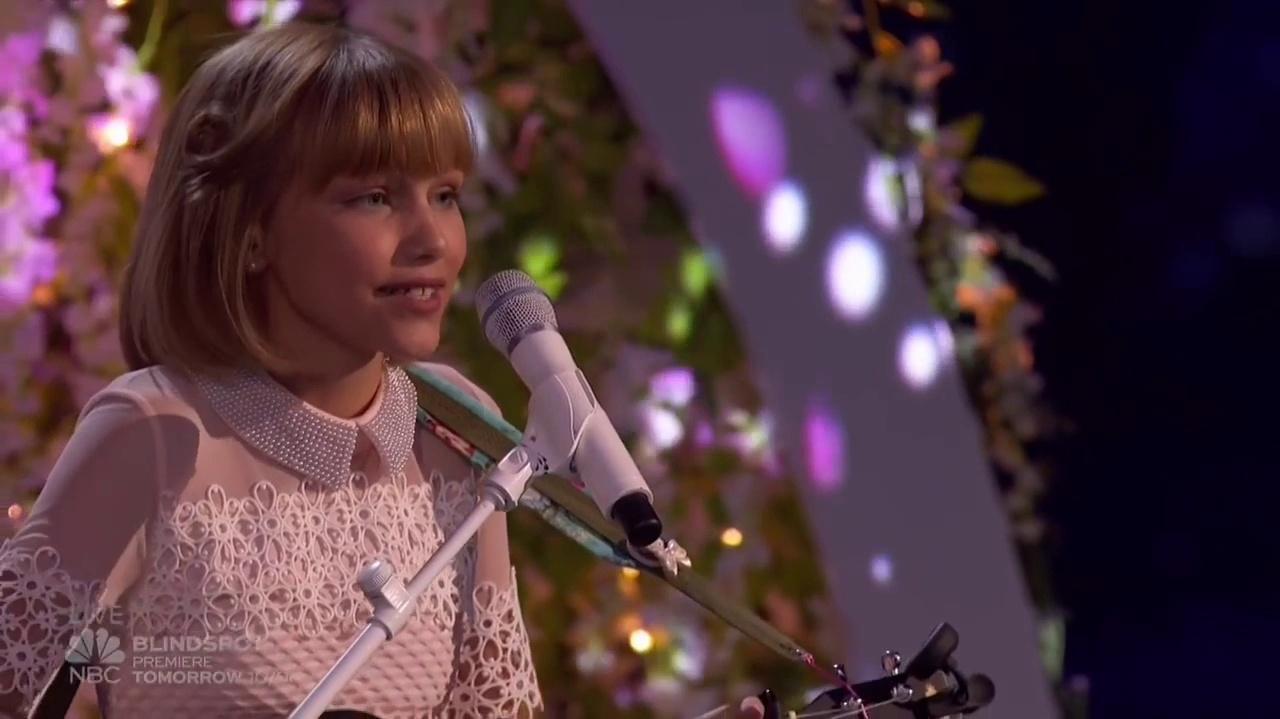Grace Vanderwaal (Mothra) At The America's Got Talent Finals