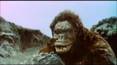 Godzilla VS King Kong 1962